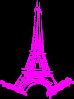 Pink In Paris Clip Art at Clker.com - vector clip art online ...