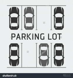 28+ Collection of Parking Lot Clipart Black And White | High quality ...