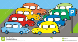 Free Parking Lot Clipart