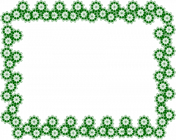 green border frame png - Free PNG Images | TOPpng