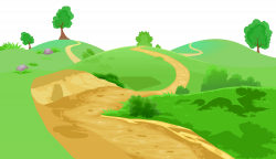 Grass and Pathway Transparent PNG Clip Art Image | Gallery ...