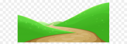 Green Design Graphics Wallpaper - Valley with Pathway PNG Clipart ...
