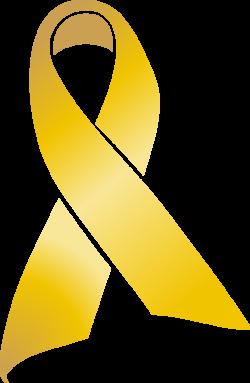 Awareness ribbon Childhood cancer Clip art - gold ribbon 770*1181 ...