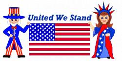 Patriotic clip art statue of liberty uncle sam usa flag ...