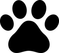 Paw Print Clip Art Free | Coloring Page Clip Art Images Coloring ...