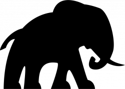 Elephant Facing Right Svg Png Icon Free Download (#74685 ...