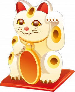 Cat Maneki-neko - Hand drawn cartoon Lucky Cat 2200*2705 transprent ...