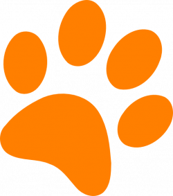 Dog Paw Prints Clipart - BClipart