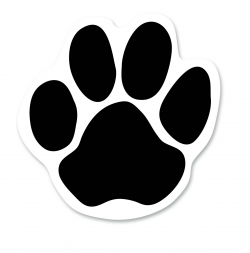 Free Dog Paw Print Outline, Download Free Clip Art, Free ...