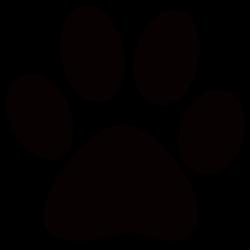 Panther Paw Print Clip Art - ClipArt Best - ClipArt Best | Locker ...