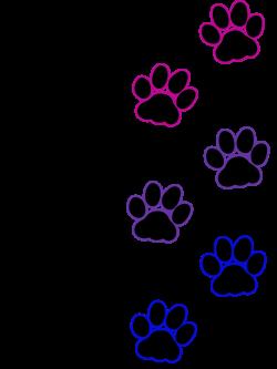Cat paw print - Bisexual | Artworktee
