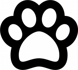 Pawprint Svg Png Icon Free Download (#74674) - OnlineWebFonts.COM