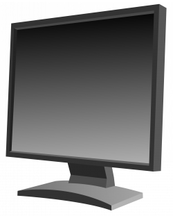 Clipart - LCD monitor