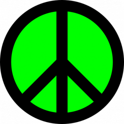 Free peace sign clip art clipart to use resource - Clipartix