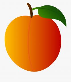 Peach Clip Art Free - Peach Fruit Clip Art , Transparent ...