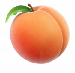 Peach Emoji Transparent Background Transparent Peach Emoji ...