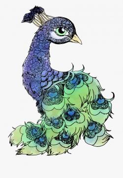 Peacala Bird Feathers - Imagenes De Animales De Mandala ...