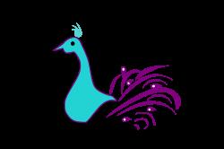 Clipart - Peacock