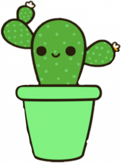 kaktus green tumblr cute kawaii...