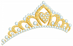 Golden Tiara PNG Clipart Image | Gallery Yopriceville - High ...