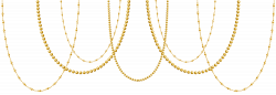 Deco Gold Pearls Transparent Clip Art Image | Gallery Yopriceville ...