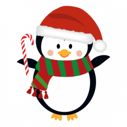 Christmas penguin clipart | Nice clip art