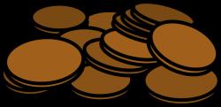 Clipart - Pennies