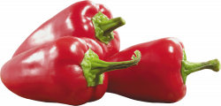 Three Red Peppers transparent PNG - StickPNG