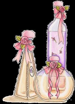 Chanel Perfume Bottles Eau de Cologne Clip art - Watercolor bottle ...