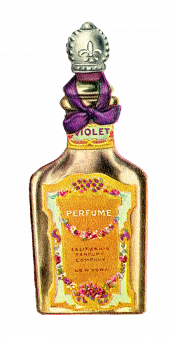 Antique Images: Vintage Avon Perfume Bottle Artwork Digital Beauty ...