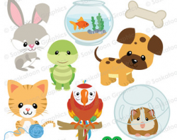 Dog's wash and grooming clipart - Dog clipart - Pet clipart - 15007 ...