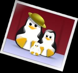 Happy Penguins Family Photo Clip Art at Clker.com - vector clip art ...