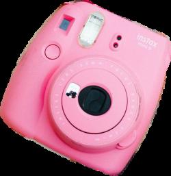 polaroid instax camera pink - Sticker by ▫chloe ▫