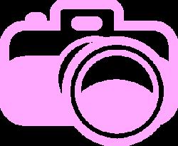 Pink Camera For Photography Logo Clip Art at Clker.com ...