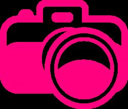 Pink Camera Clip Art at Clker.com - vector clip art online, royalty ...