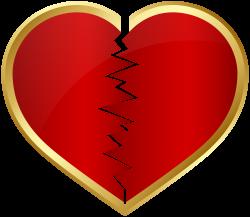 Broken Heart Transparent Clip Art Image | Gallery Yopriceville ...