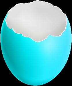 Broken Easter Egg Blue Clip Art Image | Gallery Yopriceville - High ...
