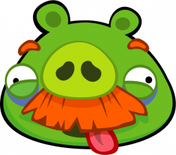 Image - AB Classic Character MoustachePig TongueOut.png | Angry ...