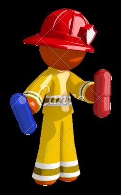 Orange Man Firefighter Red Pill Blue Pill - Photos by Canva
