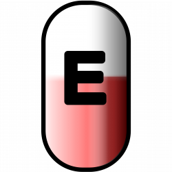 white-red e-pill Icons PNG - Free PNG and Icons Downloads