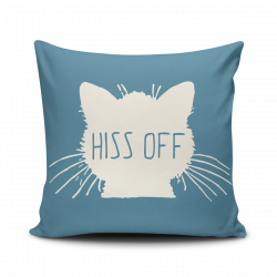 Hiss Off Pillow Cover | Products | Pinterest | Products