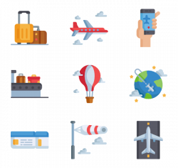 4 pilot icon packs - Vector icon packs - SVG, PSD, PNG, EPS & Icon ...