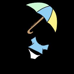 Umbrella Baby Fill In the Blank Shower Invitation - Boy – Mandys ...