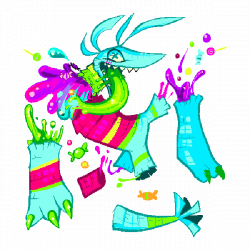 PINATA$PUNCH by Rosemary-the-Skunk on DeviantArt