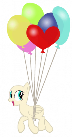 Balloon pony -base- by Pr1m Idea for the alternative to the pinata ...