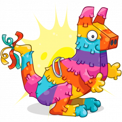Piñata | WallaBee: Collecting and Trading Card Game on iOS & Android