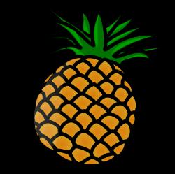 Cartoon Pineapple Clip Art PNG | PNG Mart