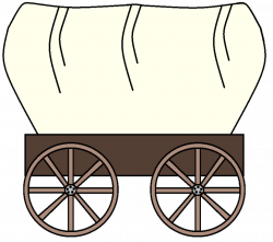 28+ Collection of Oregon Trail Wagon Clipart | High quality, free ...