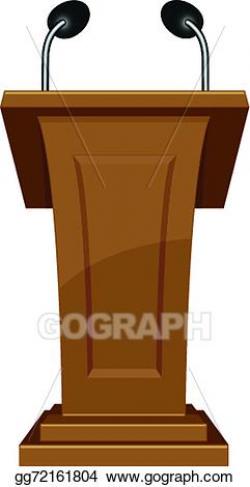 Vector Clipart - Podium icon. Vector Illustration gg72161804 - GoGraph