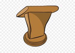 Cowboy Hat clipart - Podium, Hat, Table, transparent clip art